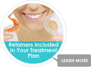 retainers included after braces and orthodontics