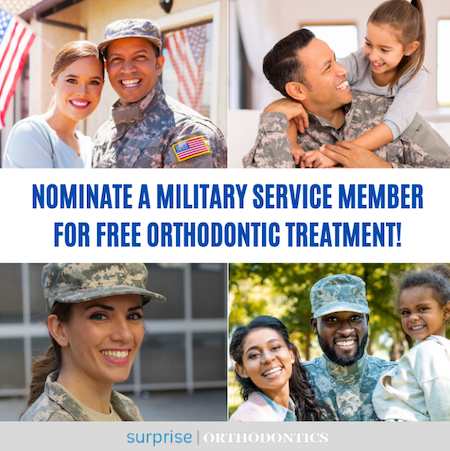 military orthodontic treatment